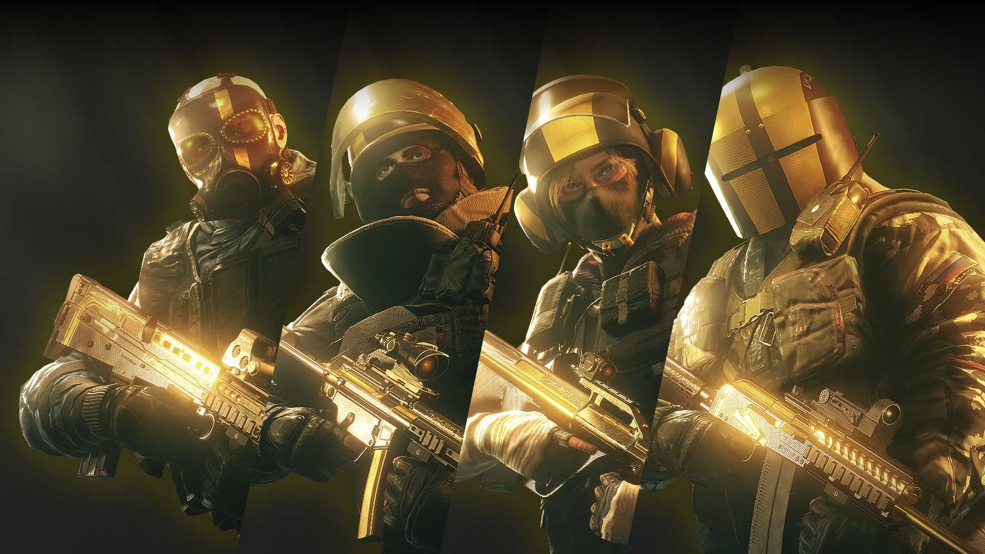 Buy Tom Clancy'S Rainbow Six Siege: Pro League All Gold ...