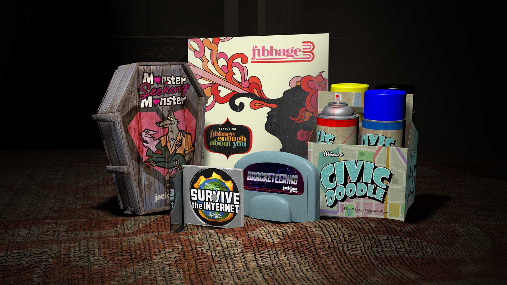 Buy The Jackbox Party Pack 4 - Xbox Store Checker