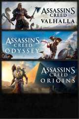 Assassin's Creed® Bundle: Assassin's Creed® Valhalla, Assassin's Creed® Odyssey, and Assassin's Creed® Origins