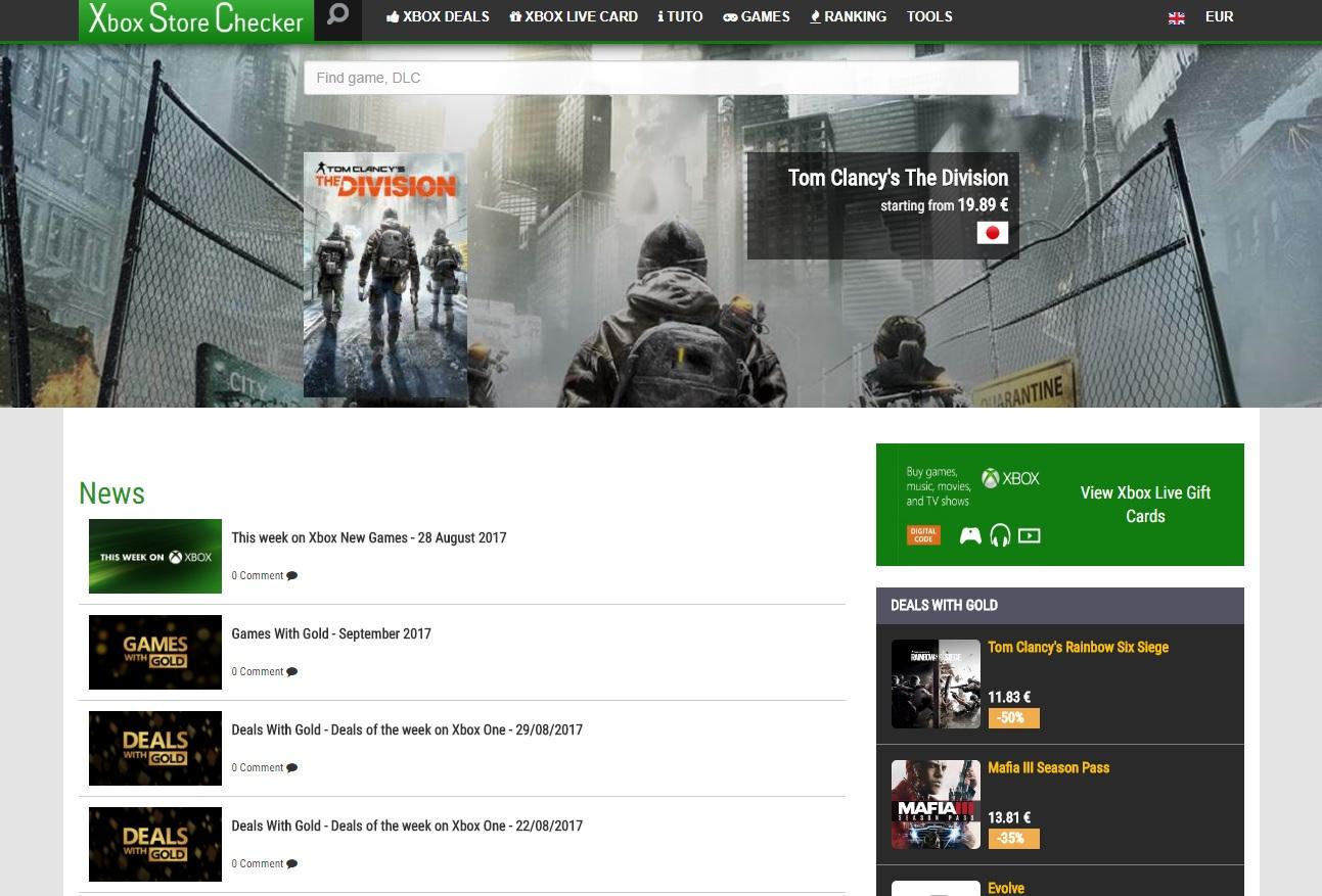 New version 3.0.2 of Xbox Store Checker