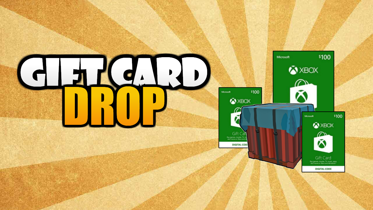 Giveaway : Gift Card Drop!