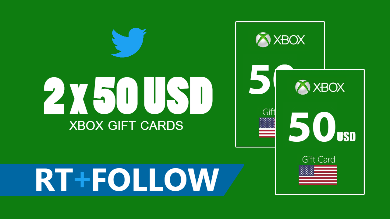 Giveaway : 2 x 50 USD Xbox Live gift card to win!