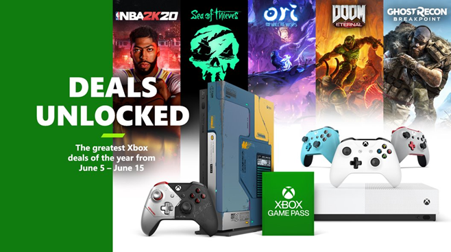 The Deals Unlocked Sale 2020 on Xbox One!