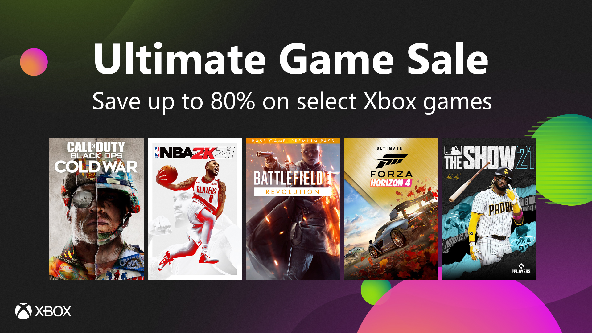 Xbox Summer Sales 2021 (Ultimate Game Sale)